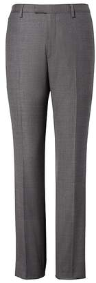 Banana Republic Slim Italian Wool Sharkskin Suit Pant