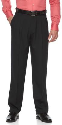Croft & Barrow Men's Classic-Fit Pleated Essential Dress Pants
