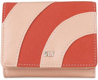 SLY (スライ) - 【SAC'S BAR】スライ SLY 三つ折り財布 s09917205 PATCHWORK 【06】ピンクベージュ
