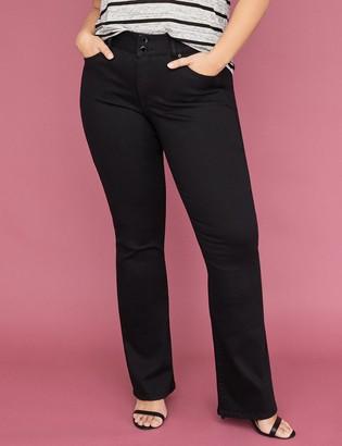 Tighter Tummy Essential Stretch Boot Jean - Black