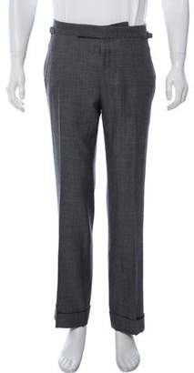 Tom Ford Wool & Silk-Blend Dress Pants