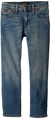 Polo Ralph Lauren Hampton Straight Stretch Jeans (Little Kids)