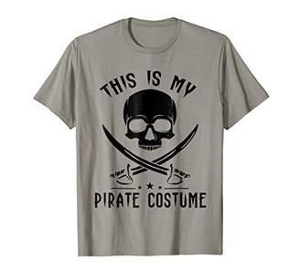 Pirate Captain Skull Halloween Costume Novelty Gift T-Shirt