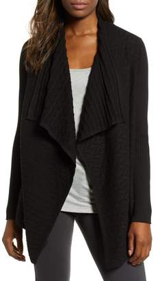 Chaus Mixed Knit Cotton Cardigan