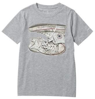 Converse Sneaker Stack Tee (Big Boys)