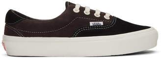 Vans Brown and Black OG Era 59 Lx Sneakers