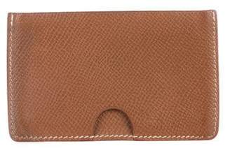 Hermes Courchevel Porquerolles Card Holder