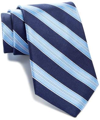 Tommy Hilfiger Silk Twill Bar Stripe Tie $65 thestylecure.com