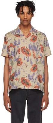 BEIGE Resort Corps Opiate Bowling Shirt