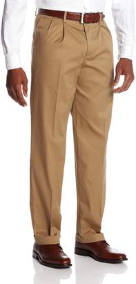 Dockers New Iron Free D3 Classic Fit Pleated-Cuffed Pant
