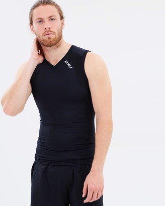2XU Men's Compression Sleeveless Top