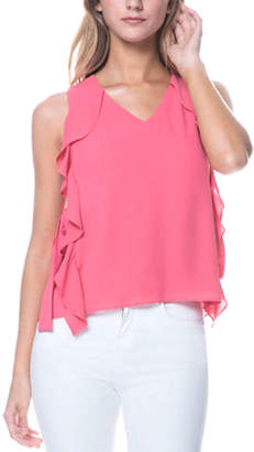 Endless Rose Ribbon-Tie Top