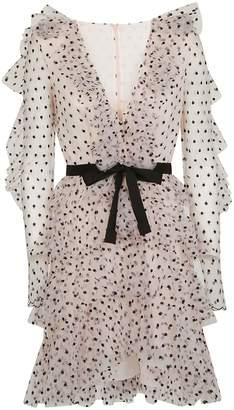 Philosophy di Lorenzo Serafini Sheer Effect Dress