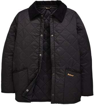 Barbour Boys Liddesdale Quilted Jacket with Contrast Collar
