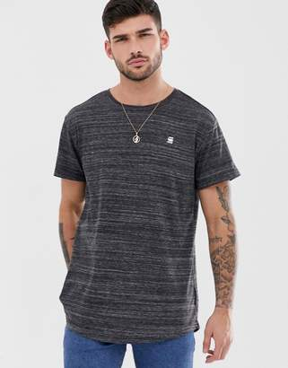 G Star G-Star Starkon t-shirt in black marl