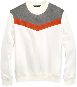 Sean John Men's Chevron Sweater, Only at Macy's $69.50 thestylecure.com