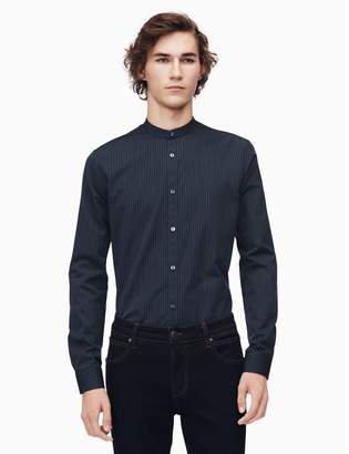 Calvin Klein slim fit yard stripe shirt
