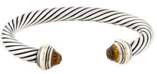 David Yurman Citrine Cable Classics Bracelet