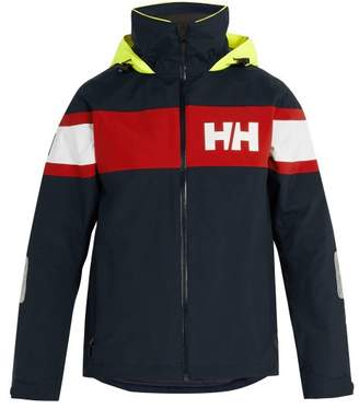 Helly Hansen Salt Flag Hooded Jacket - Mens - Navy