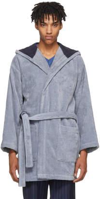 Fendi Blue Bag Bugs Bath Robe
