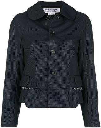 Comme des Garcons button-down fitted jacket