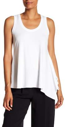 Theory Draped Scoop Neck Tee