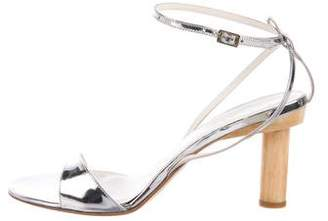 Tibi Patent Leather Sandals w/ Tags