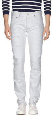 Co FABRIC-BRAND & Denim trousers