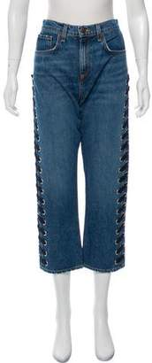 Veronica Beard Ines High-Rise Jeans w/ Tags