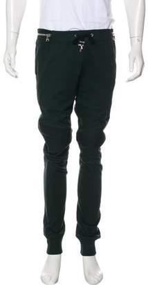 Balmain Knit Moto Joggers