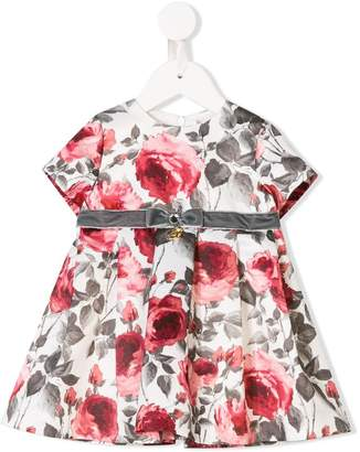 Miss Blumarine floral print dress