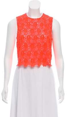 A.L.C. Sleeveless Lace Top