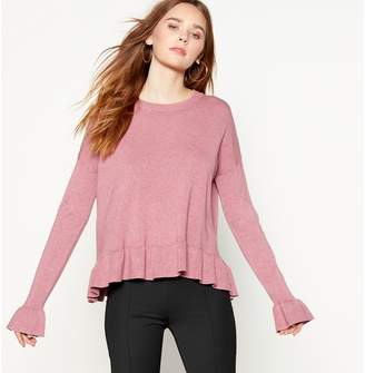MBYM Pale Pink Knitted 'Cubus' Jumper