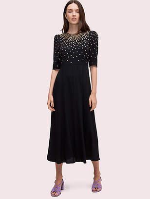 Kate Spade Crystal Bodice Dress, Black - Size 2