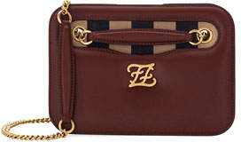 Fendi Karligraphy King Calf Pocket Shoulder Bag