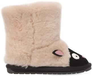Emu Lamb Merino Wool & Suede Boots