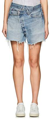 R13 Women's Crossover Distressed Levi's® Shorts