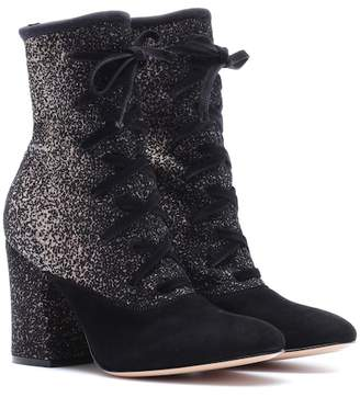 Gianvito Rossi Danis lace-up ankle boots