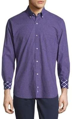 Tailorbyrd Beineville Cotton Button-Down Shirt