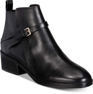 Cole Haan Etta Block-Heel Ankle Booties