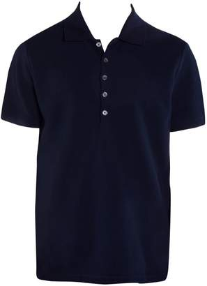 Thom Browne Short-Sleeve Relaxed-Fit Cotton Polo