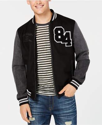 American Rag Men's Hybrid Varsity Jacket