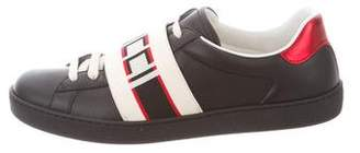 Gucci Logo Low-Top Sneakers