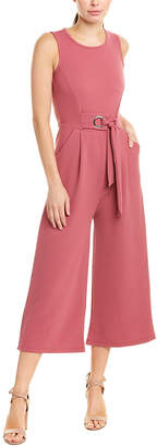 Romeo & Juliet Couture Romeo + Juliet Couture Textured Jumpsuit