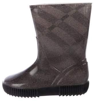 Burberry Boys' Rubber Rain Boots