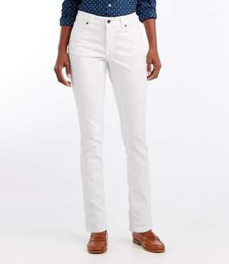 L.L. Bean L.L.Bean True Shape Jeans, Favorite Fit Slim-Leg