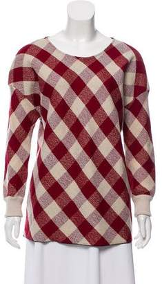 Forte Forte Buffalo Check Sweater