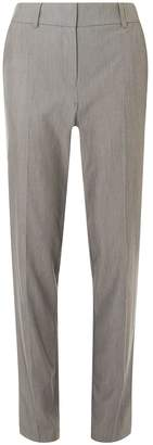 Dorothy Perkins Womens **Tall Charcoal Split Hem Ankle Grazer Trousers
