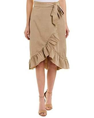 Ella Moss Women's Canvas Ruffle Skirt