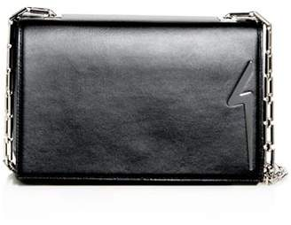 Giuseppe Zanotti Medium Leather Logo Shoulder Bag